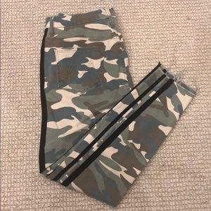 Mother Camo Jeans
